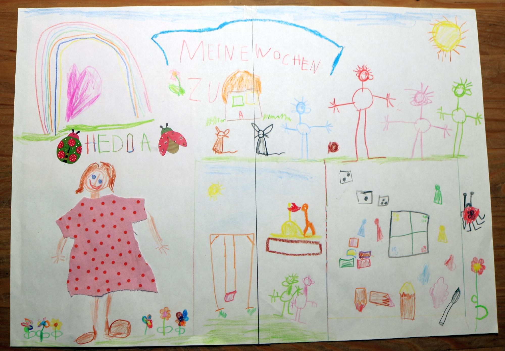 2020 Malwettbewerb Ich spiele mit meiner Familie zu Hause (Hedda 5 Jahre) web