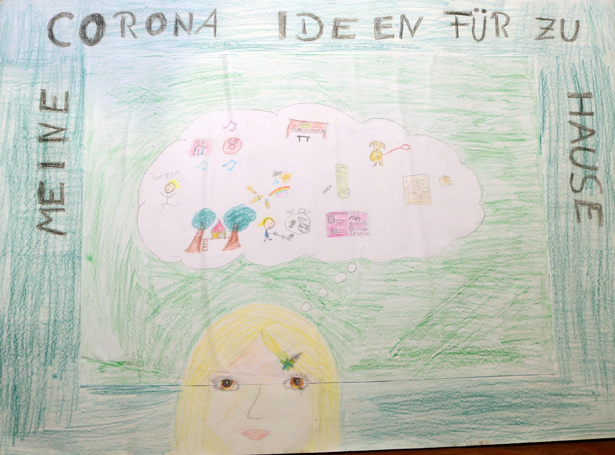 2020 Malwettbewerb Meine Corona Ideen für zu Hause (Mia Lena 10 Jahre) web