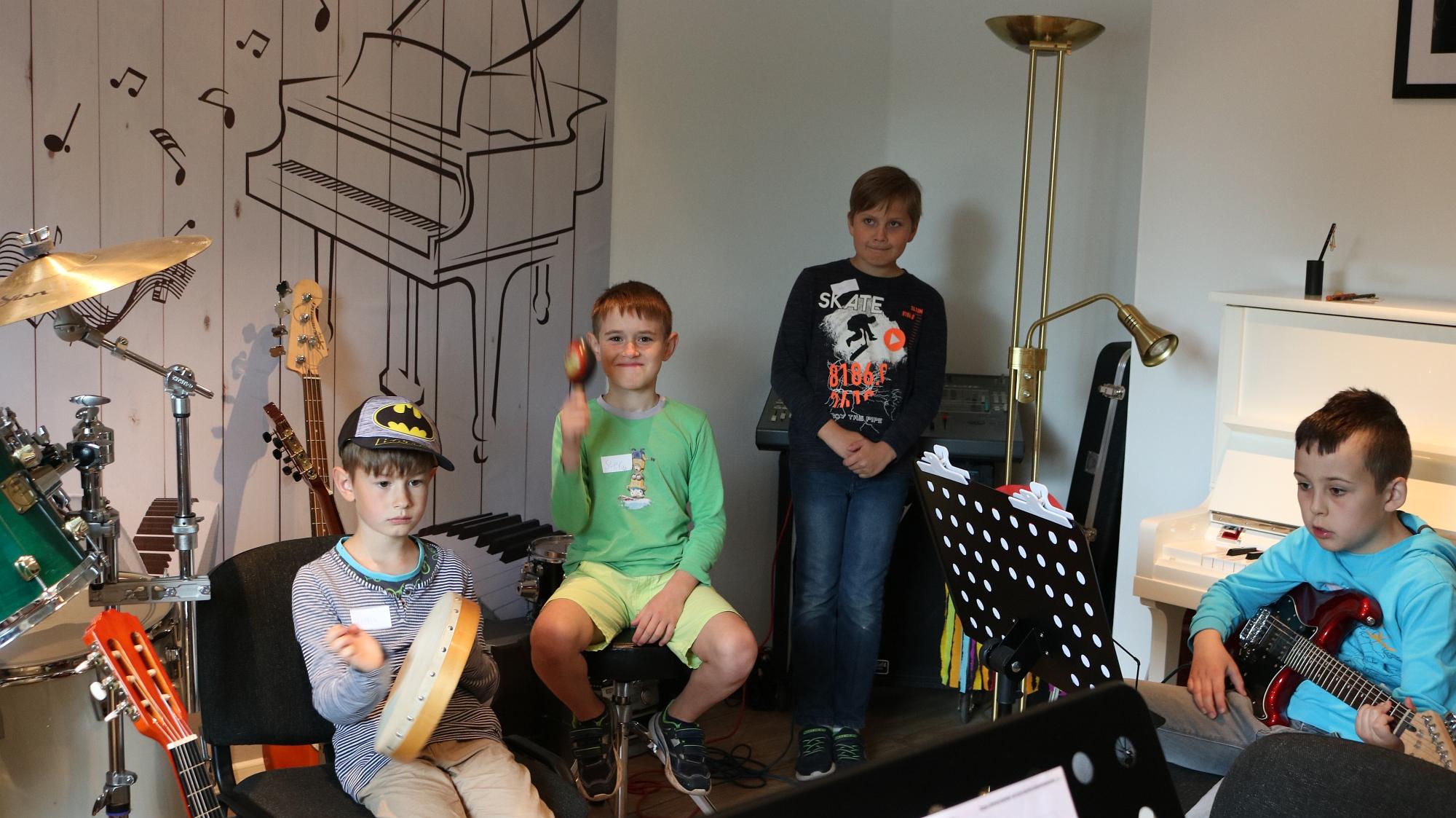 202007 Bandprobe FP Musikschule Harmonie 10
