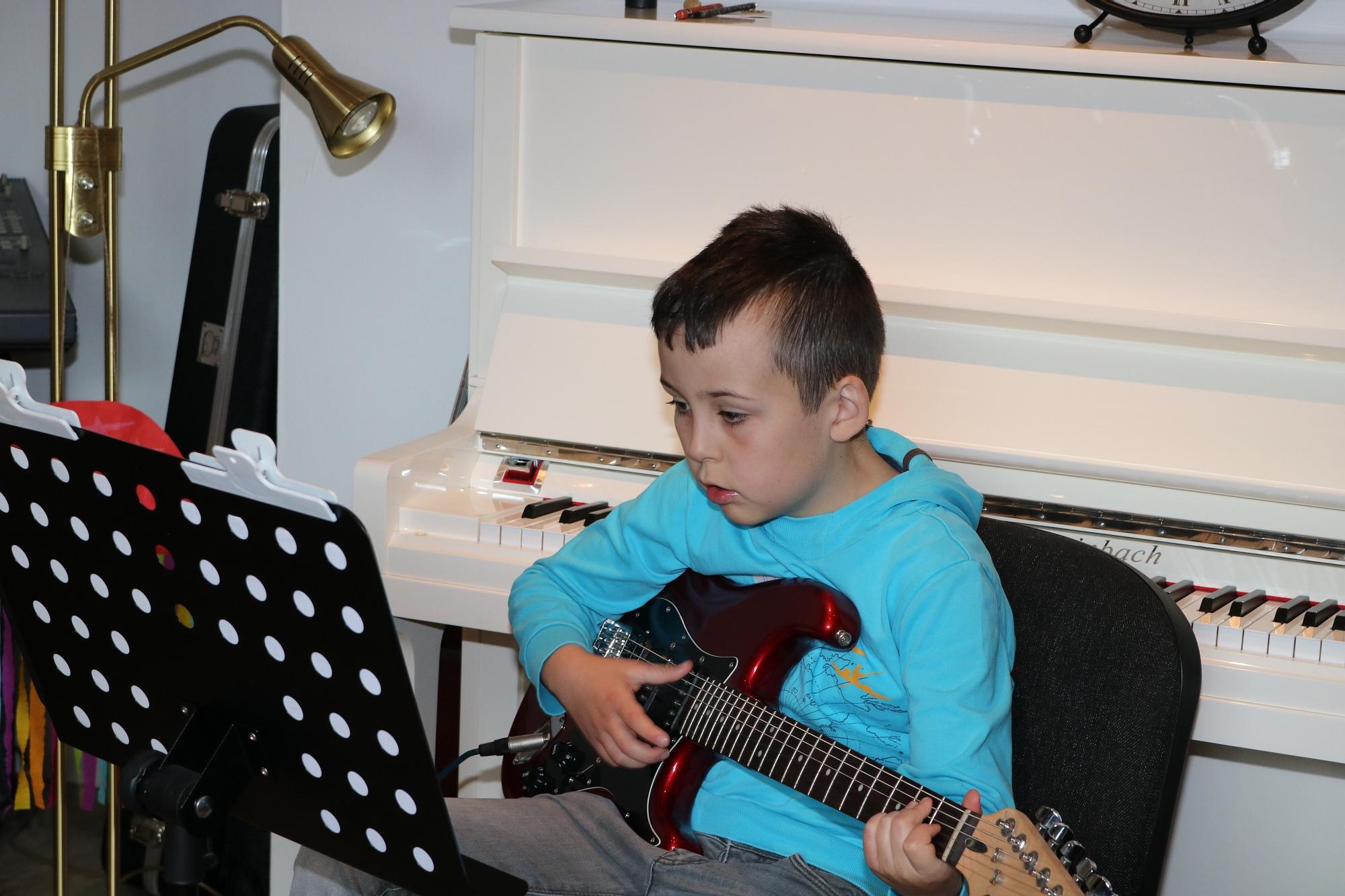202007 Bandprobe FP Musikschule Harmonie 17