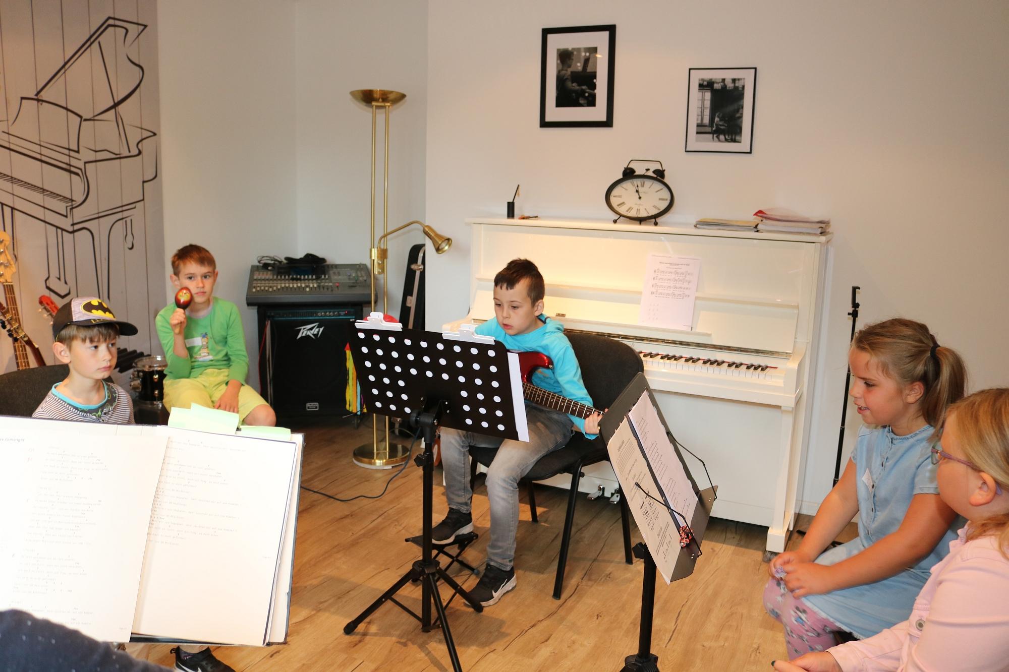 202007 Bandprobe FP Musikschule Harmonie 3