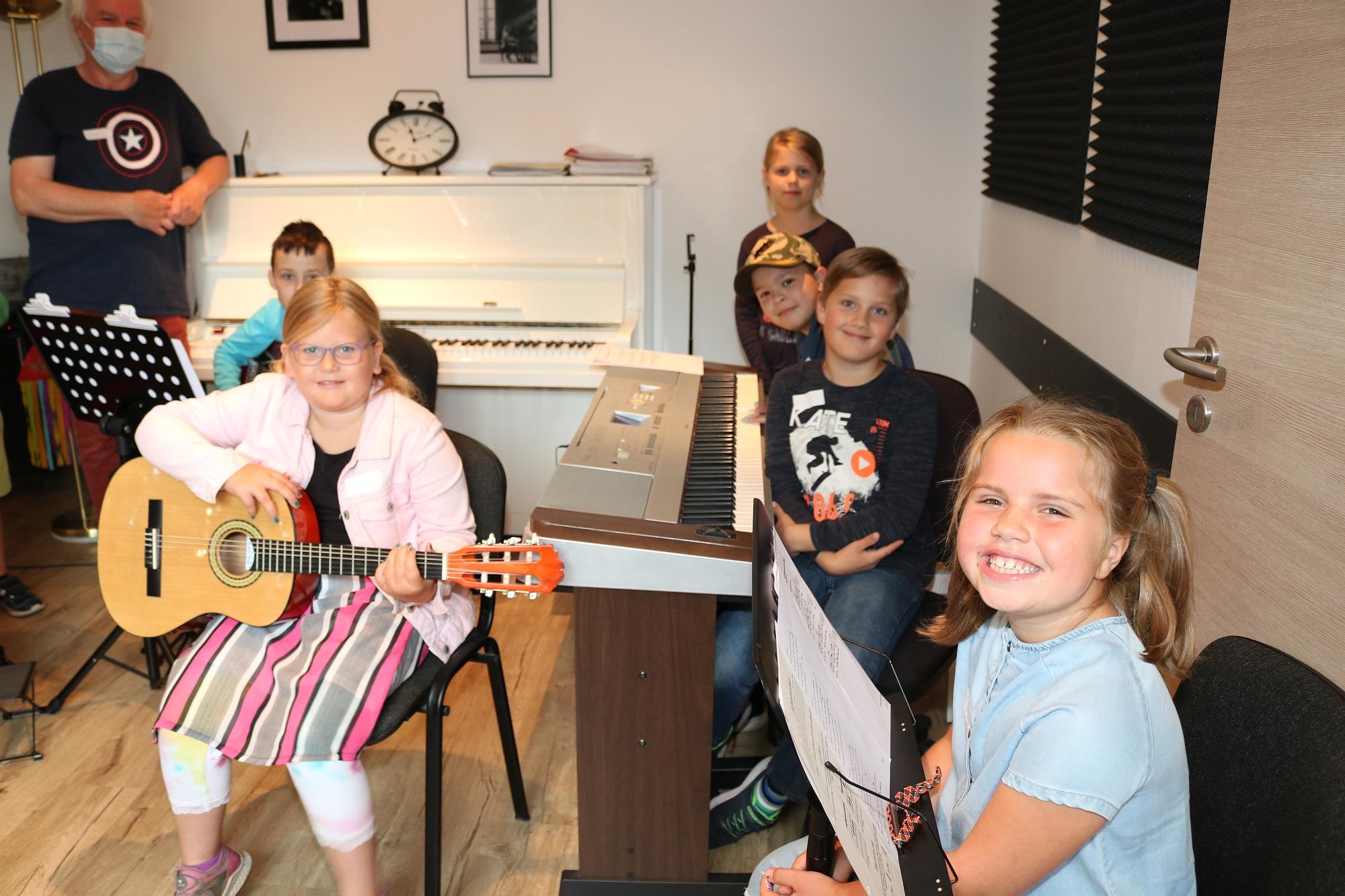 202007 Bandprobe FP Musikschule Harmonie 7