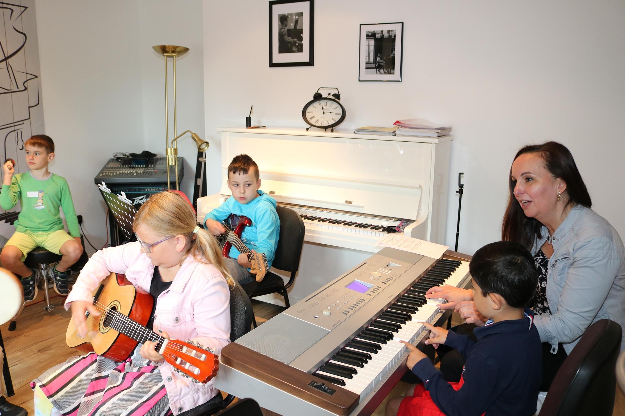202007 Bandprobe FP Musikschule Harmonie 8