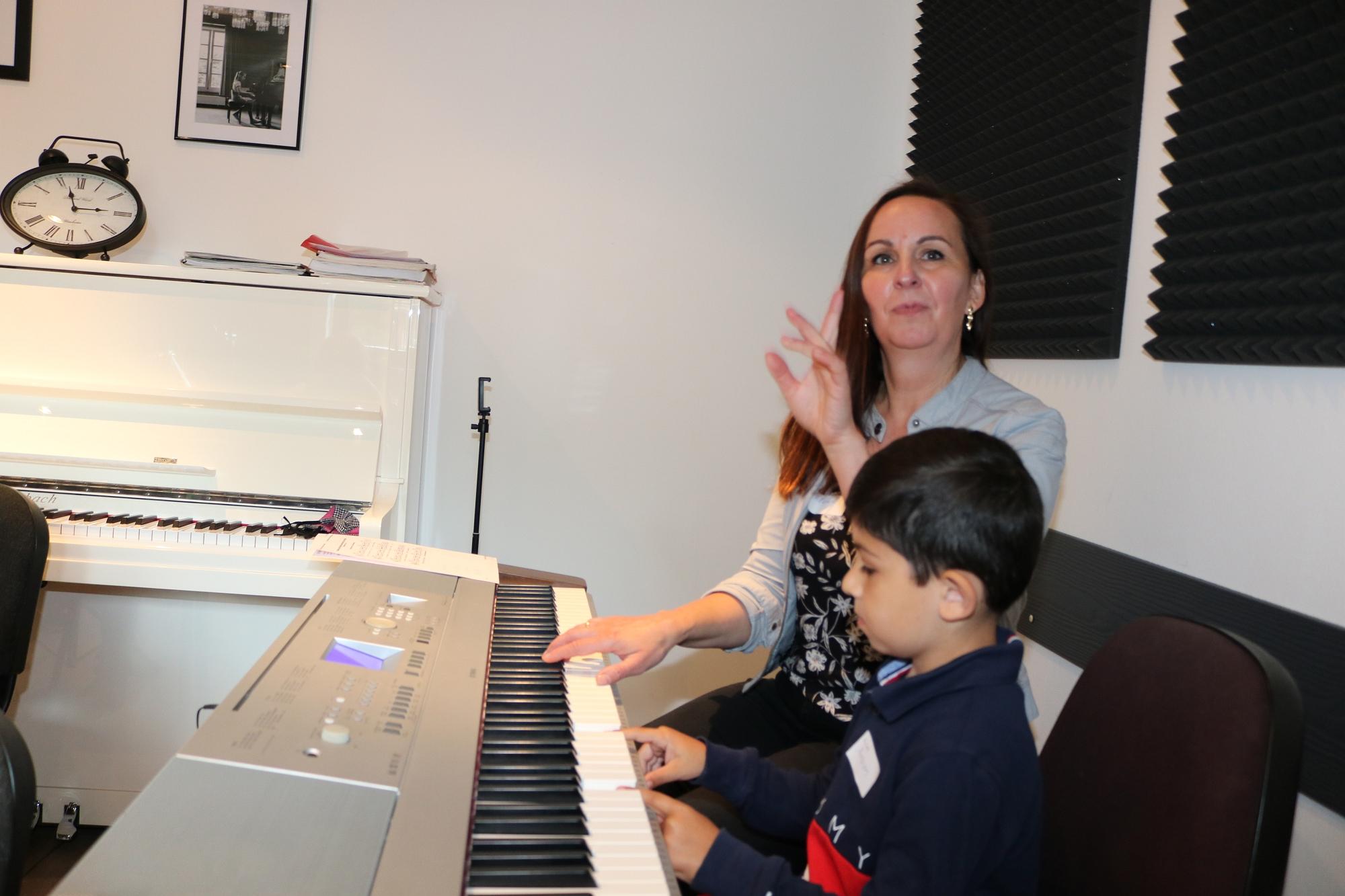 202007 Bandprobe FP Musikschule Harmonie 9